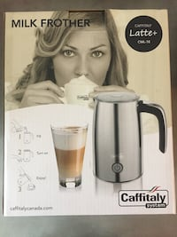 Caffitaly milk frother brand new  Toronto, M6J