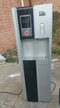 gray and black Elite hot and cold water dispenser Falls Church, 22046