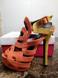 Sassy Spring Sandal. Variety of sizes available.  Mansfield