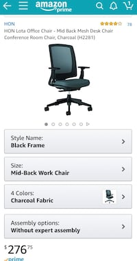 HON lota office chair  Great Neck
