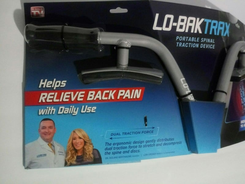 NEW Lo-Bak Trax portable Spinal Traction Device & Bonus Stretches DVD f8cf9deb-d4c6-4a4c-941f-e141bb2912dd