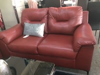 Red sofa and loveseat  Irving, 75062