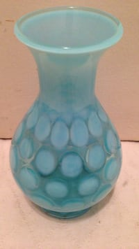 Blue glass flower vase Alexandria, 22314