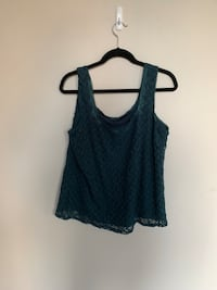 Women's green tank top 2245 mi