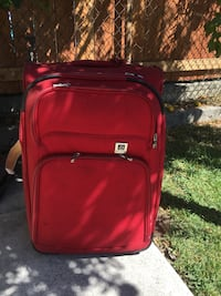 red and black luggage bag Los Angeles, 90031