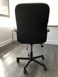 Lightweight leather office chair 3727 km