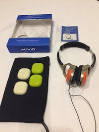 """Auvio"" Retro Stereo Headphones (Model: 33-278) Rockville, 20850"