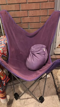 Purple bedroom camping chair  Sugar Land, 77478