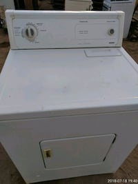 white front-load clothes dryer Bakersfield, 93307