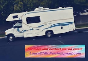LEFT FOR COMPLETION OF NEWRV 2OO2 Fleetwood Tioga CLASS C Motorhome