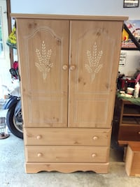 Armoire or entertainment center 3 drawers