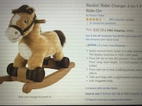 Rocking Horse with Built-in Battery Glenview, 60026