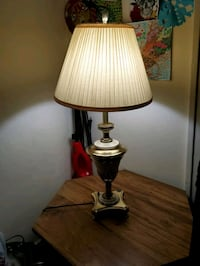 Table lamp bronze color