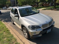 2008 BMW X5 4.8i - EXCELLENT CONDITION - SILVER - SECOND OWNER - 120K MILE - MAINTENANCED  NEW BRAKE AND ROTOR  NEW BATTERY  NEW SPARK PLUGS Washington, 20008