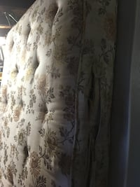 white and brown floral curtain Newcastle Upon Tyne, NE15 7PB