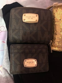 MK wallet and card holder $50 each