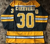 Gerry Cheevers Autographed Jersey w/ COA! Windsor, N8W