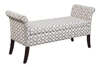 Convenience Concepts Garbo Storage Bench, Ribbon (New in Box) Fort Wayne