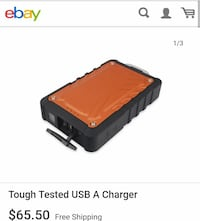 Tough Tested 8000mah Battery Pack