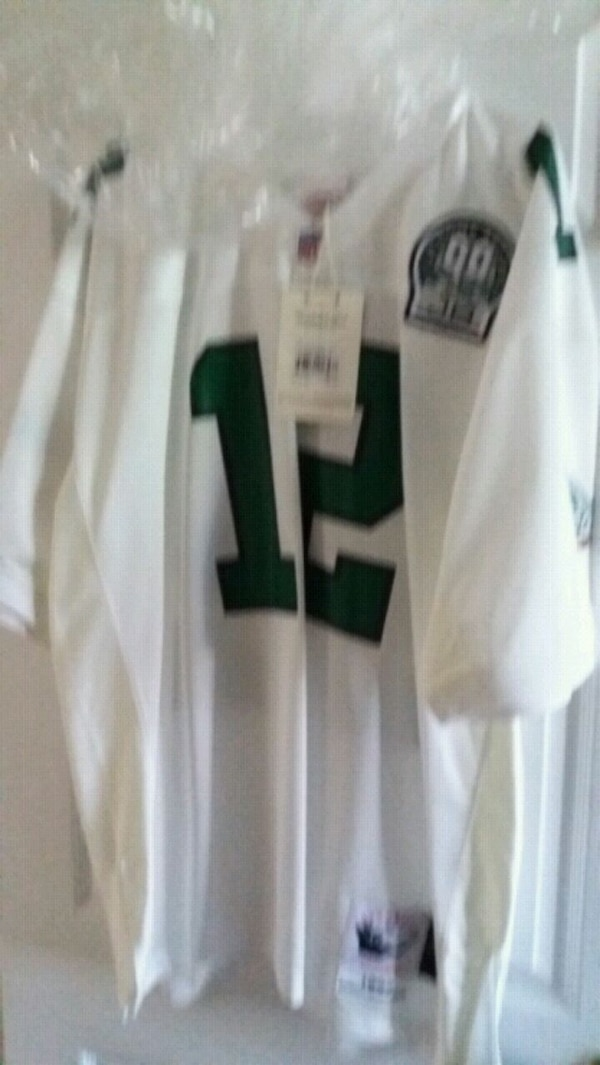 brand new 9e63f 91122 Mitchell and ness Randell Cunningham white Eagles