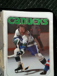 Autographed 1978 Vanouver Canucks Game Program  Vancouver, V5M 3Z4
