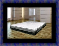 Singlesided pillowtop mattress with box spring Baltimore, 21215