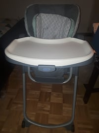 Graco Slim Spaces HiChair Herndon