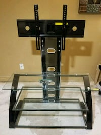 black metal frame glass TV stand Citrus Heights, 95621