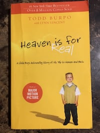 Heaven is for real book Toronto, M1V 1A9