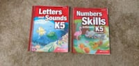 Abeka Letters and Numbers Books K5 Second Edition Hagerstown, 21742