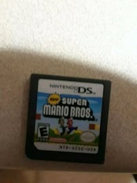 New Super Mario Bros For Nintendo DS Game Burnaby, V5A 4X9