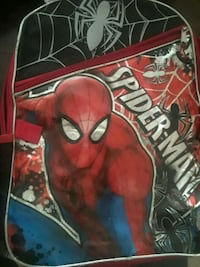 red, black, and blue Spider-Man graphic backpack Big Spring, 79720