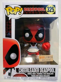 Funko Pop Cheerleader Deadpool 325 Boxlunch Modesto, 95357