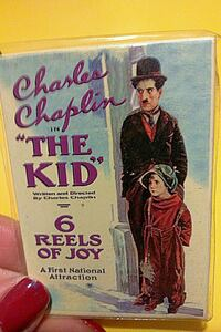 Charlie Chaplin, The Kid, Movie Poster Magnet!