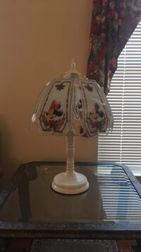 white and brown table lamp 1 mi