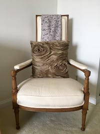 Elegant side chair. $125 Alexandria, 22314