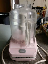 Kitchenaid Mini Pink Food Processor