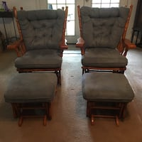 Moving sale: 2 Chairs and ottoman Burleson, 76028