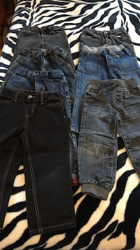 Boys Jeans size 7 prs 3T and 3 pairs 4T. Good condition Winnipeg, R3X 2G2