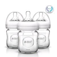 New Avent Natural Glass Baby Bottles, 4 Ounce  Falls Church, 22043