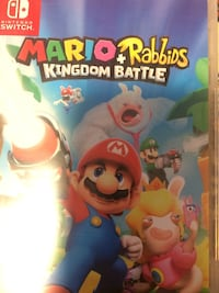Nintendo Switch Matio Rabbids Kingdom Battle case Montréal, H1E