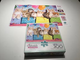 Kitty cat puzzle