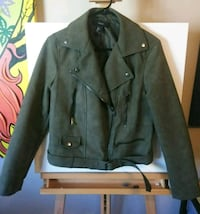 Ary green faux suede zip-up jacket San Diego, 92103
