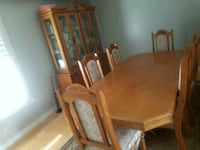 brown wooden dining table set Pickering, L1V 1G8
