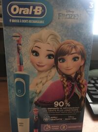 Frozen Oral-B rechargeable toothbrush