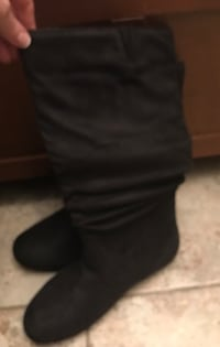 New size 10 suede boots