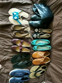 assorted pairs of shoes and sandals Bakersfield, 93308