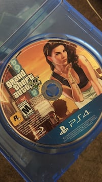 Grand Theft Auto Five PS4 game disc Bladensburg, 20784