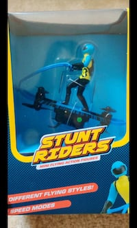 Stunt riders drone..mini flying action figures.. paraglider mode,speed Gaithersburg, 20878