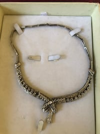 silver-colored chain necklace Annandale, 22003